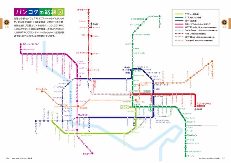 タイ路線図