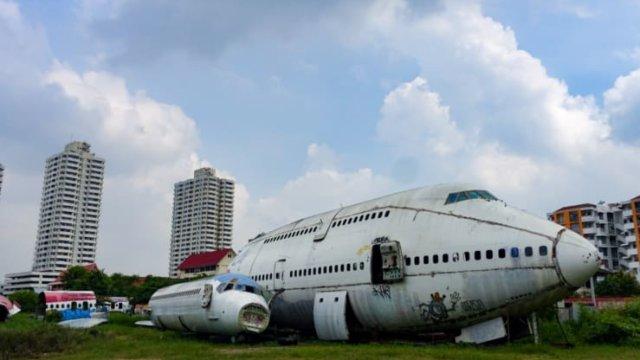 飛行機墓場